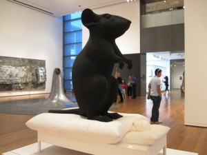 mouse at seattle art museum