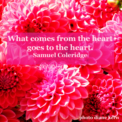 What Comes From the Heart